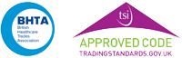 BHTA TSI Approved Code Logo