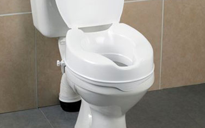 Raised Toilet Seats for the Elderly & Disabled | Manage At Home