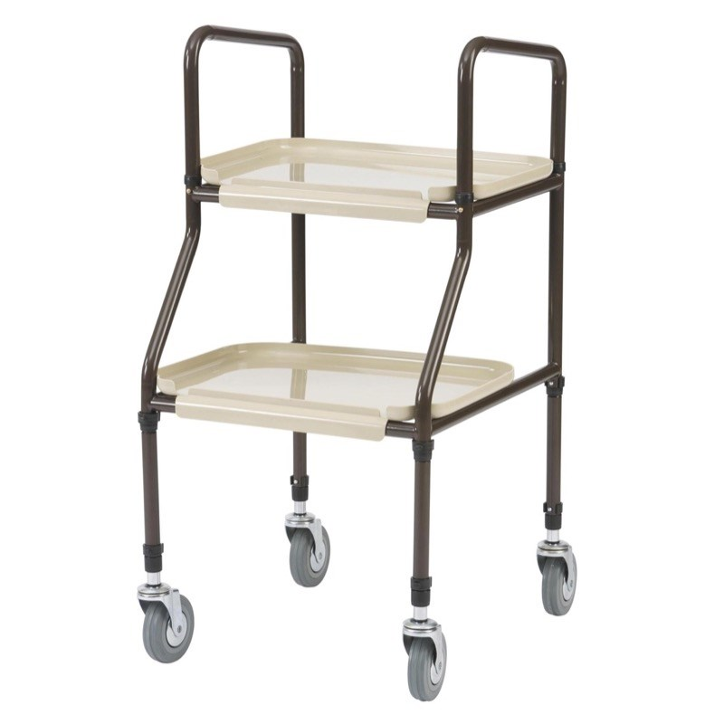 Handy Twin Tray Trolley