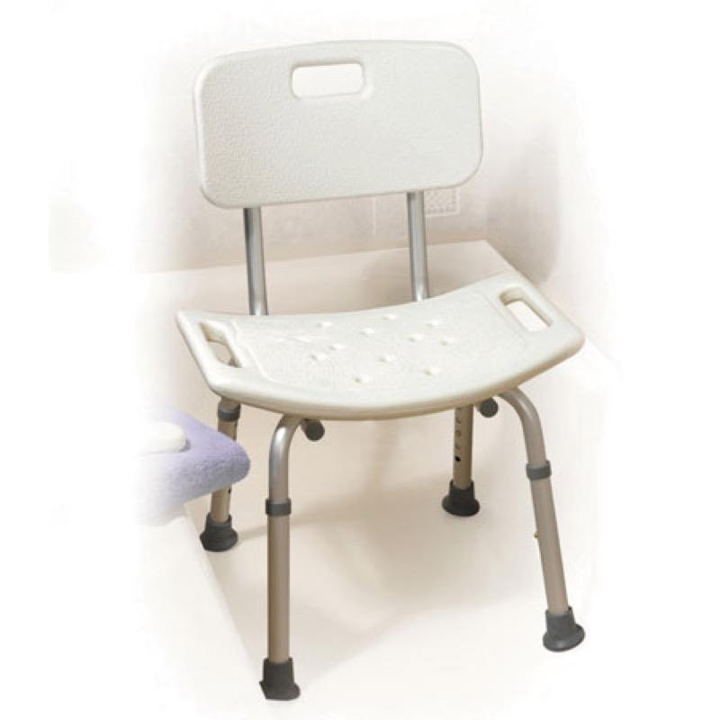 Deluxe Adjustable Height Shower Chair