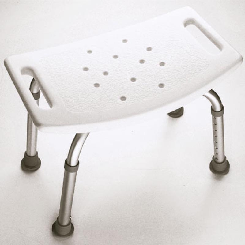 Adjustable Height Shower Stool