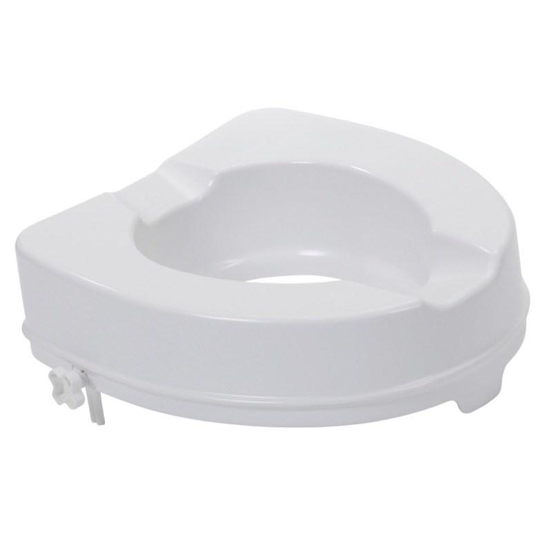 Raised Toilet Seat 2 Inch (No Lid)