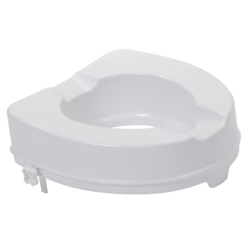 Raised Toilet Seat 4 Inch (No Lid)