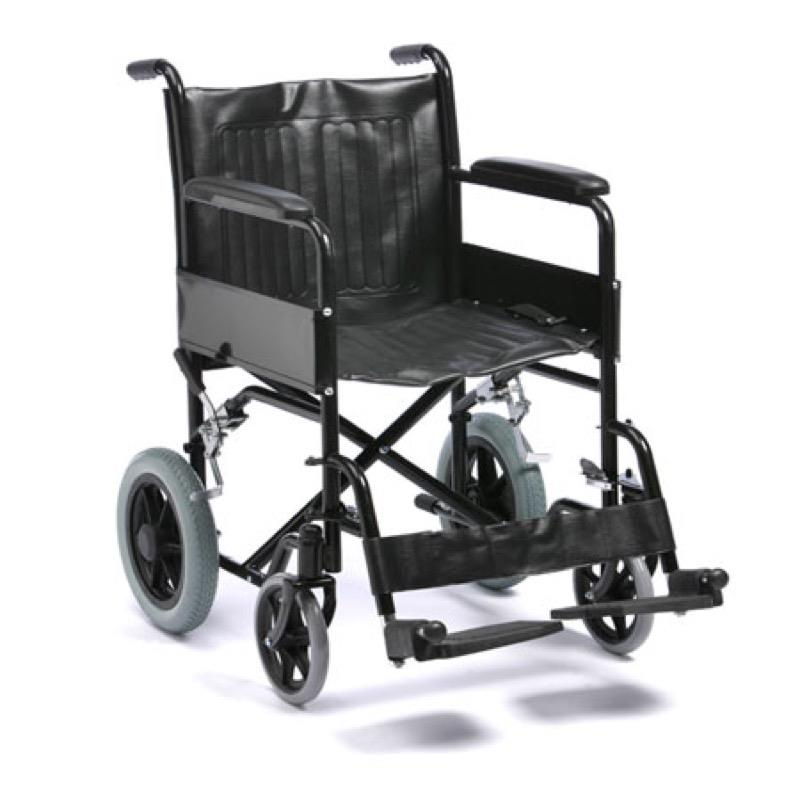 Basic Transit Steel Wheelchair
