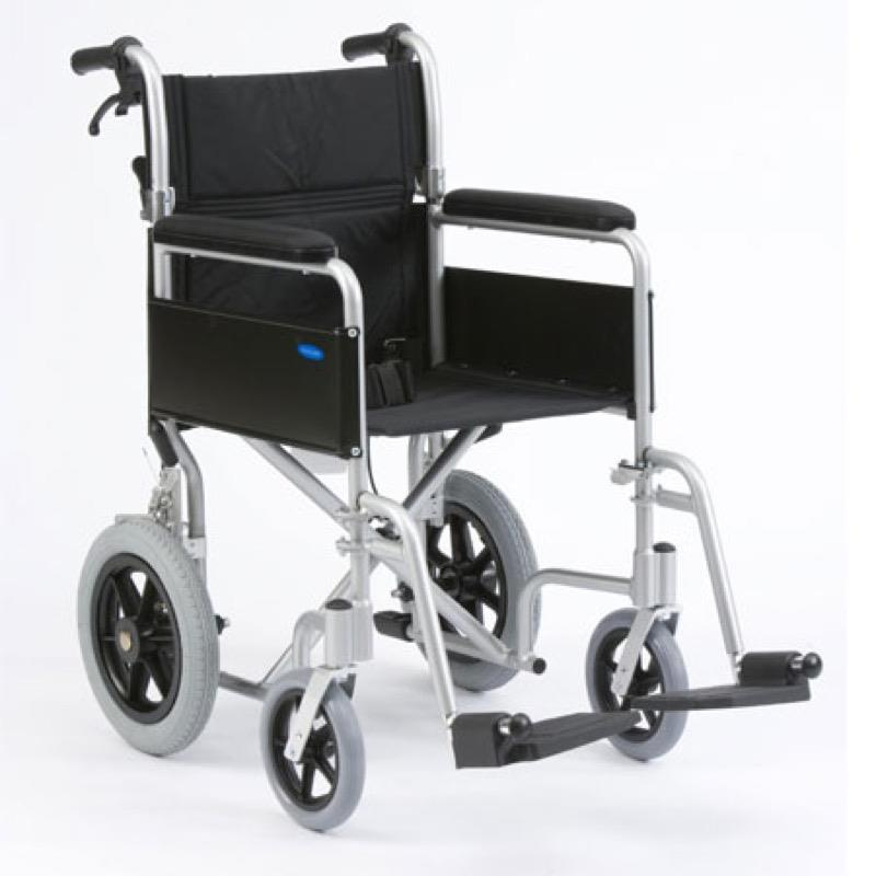 Basic Transit Aluminium Wheelchair