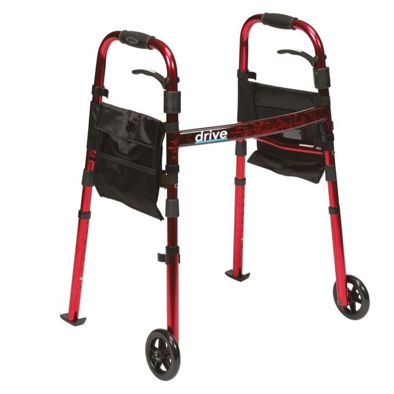 Deluxe Travel Folding Walker