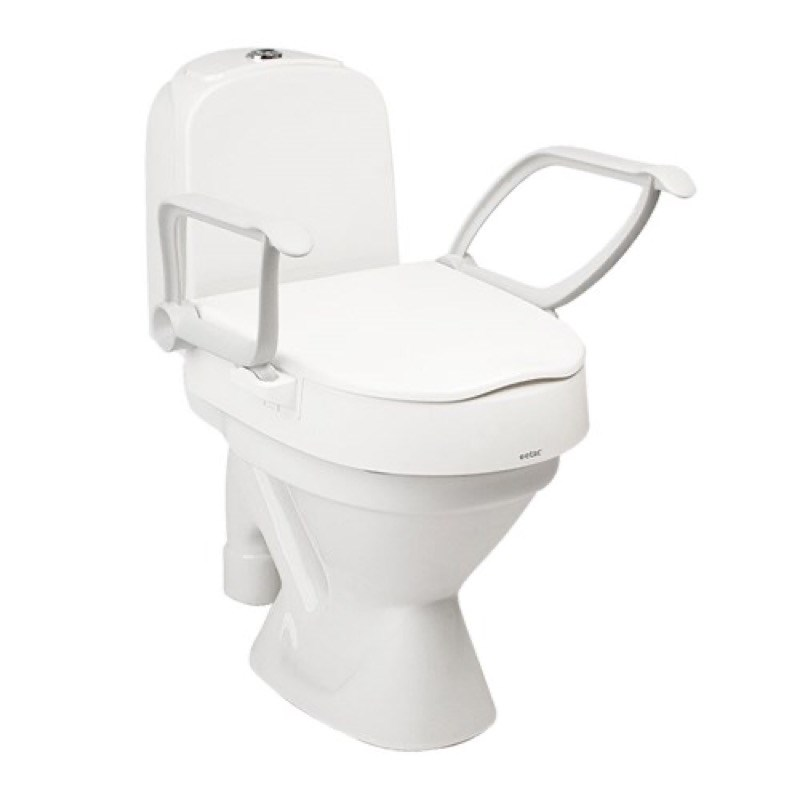Etac Cloo Raised Toilet Seat with Armrests
