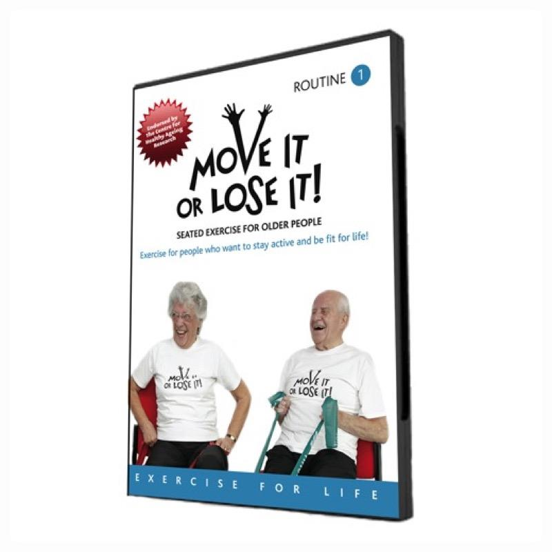 Move It or Lose It Exercise DVD No.1