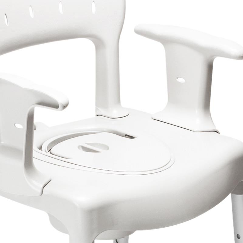 Swift Commode Pan with Lid