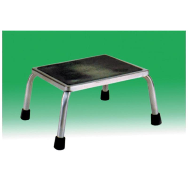 Chrome Plated Steel Framed Stepstool