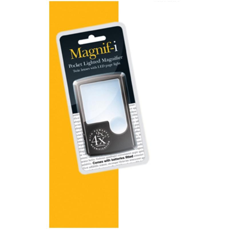 Pocket LED Magnifier