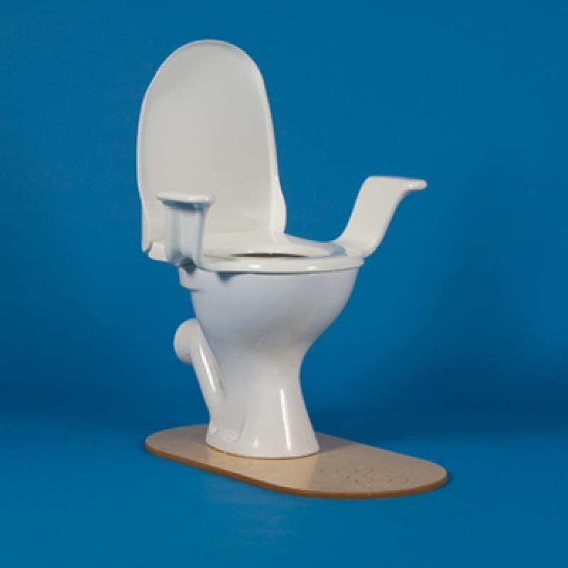 Nobi Classic Toilet Seat with Arms