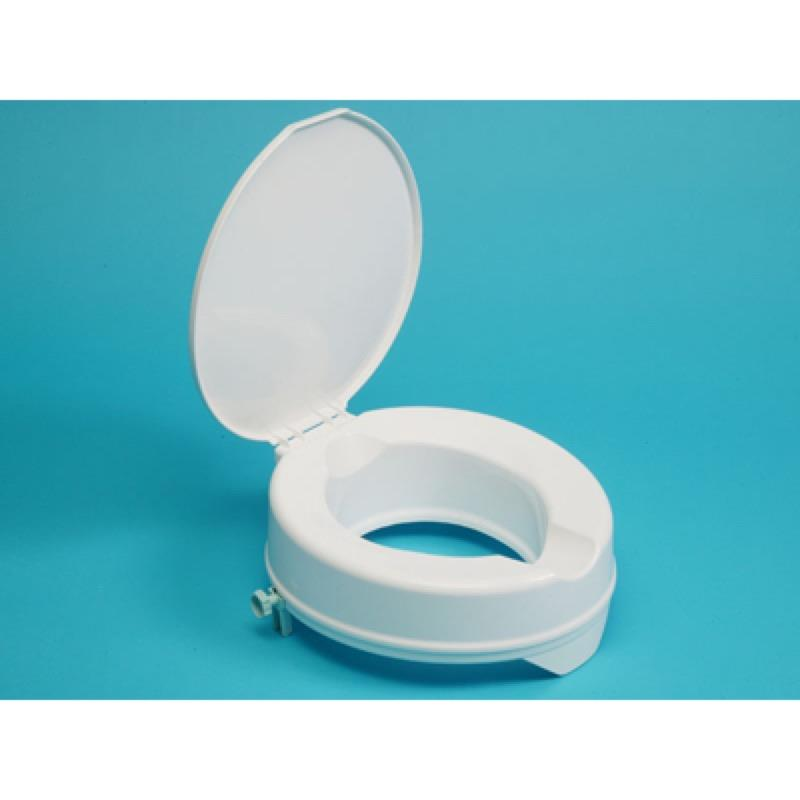 Prima Raised Toilet Seat 4 Inch with Lid