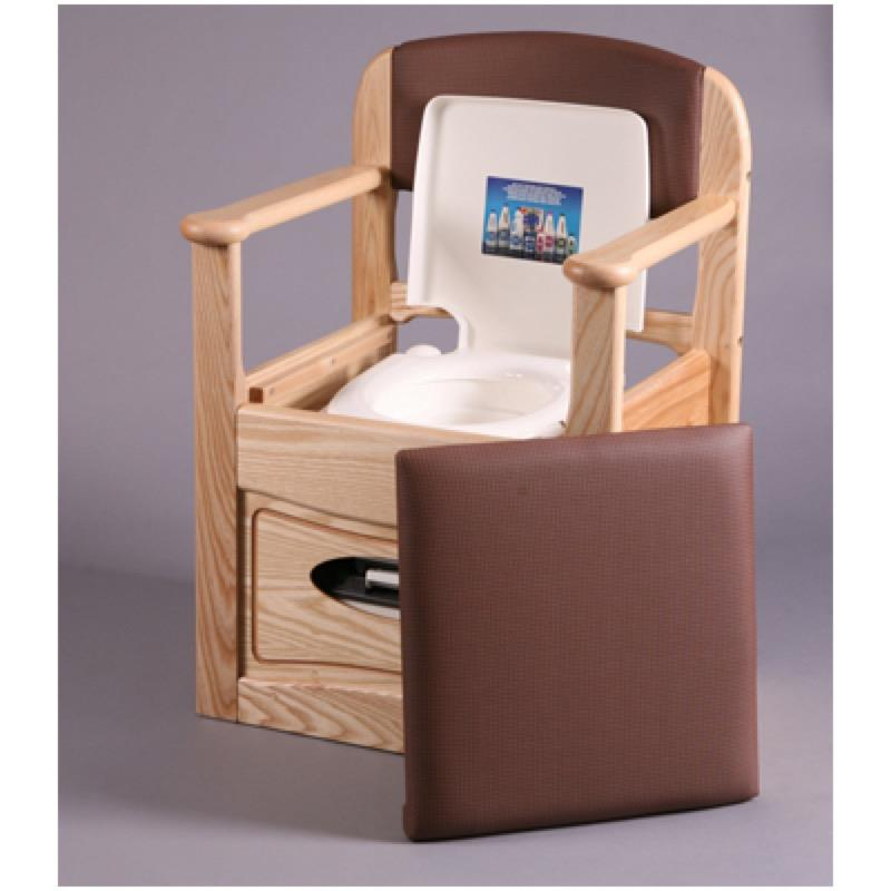 Royale Flushing Commode