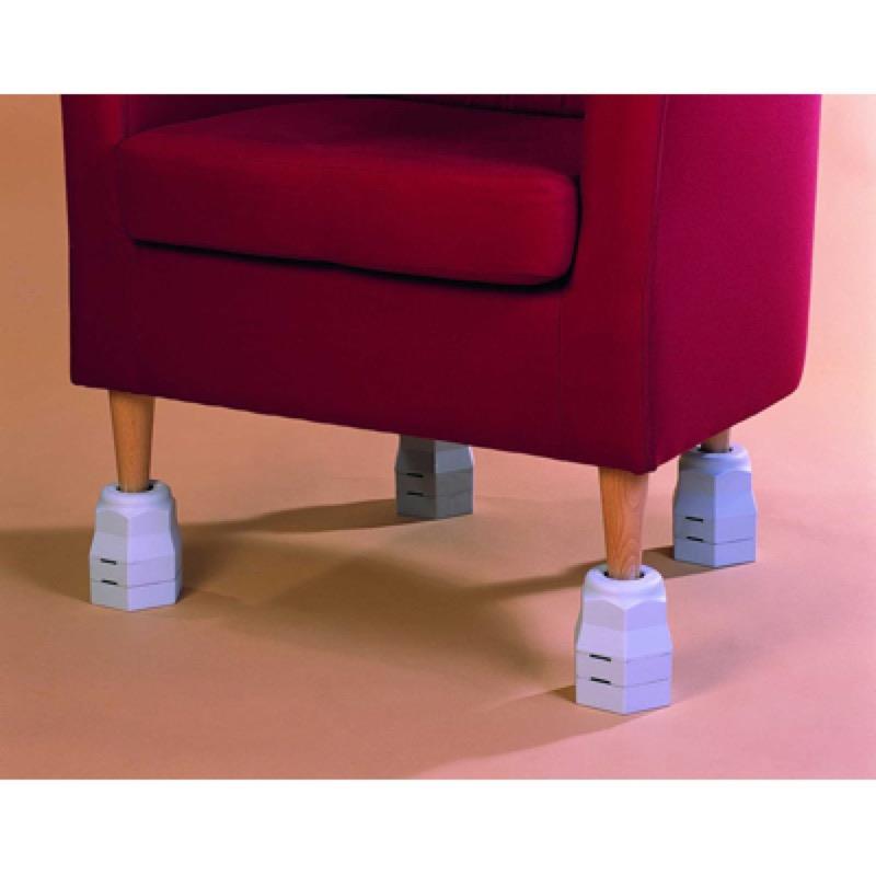 Grip-On Furniture Raisers