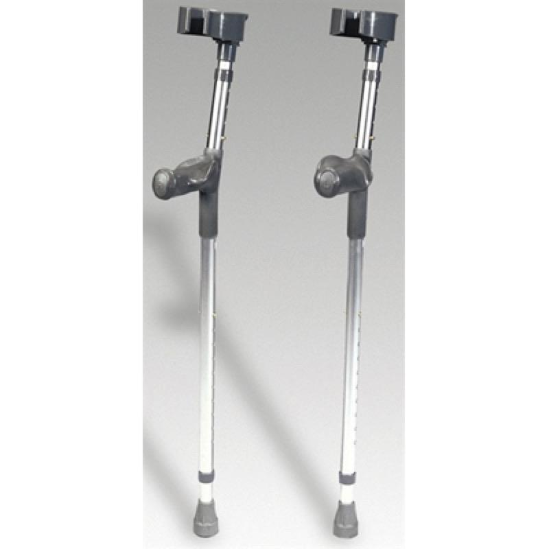 Adjustable Aluminium Forearm Anatomic Grip Crutch