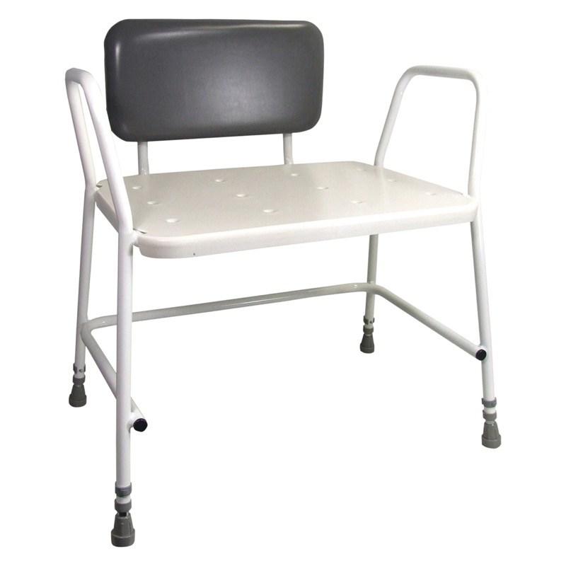 Portland Bariatric Height Adjustable Shower Chair