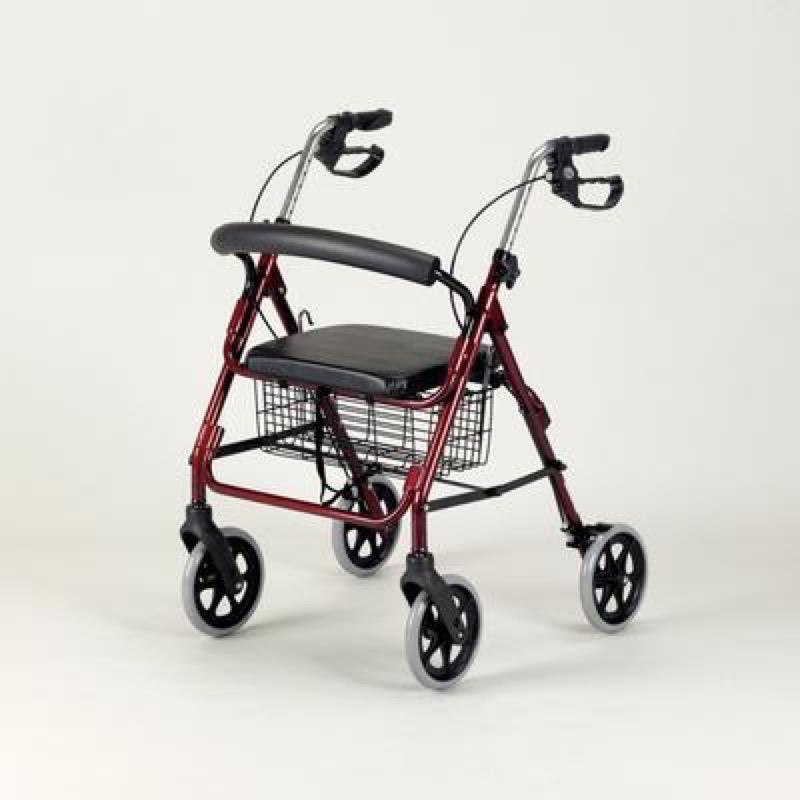 Aluminium Four-Wheeled Rollator