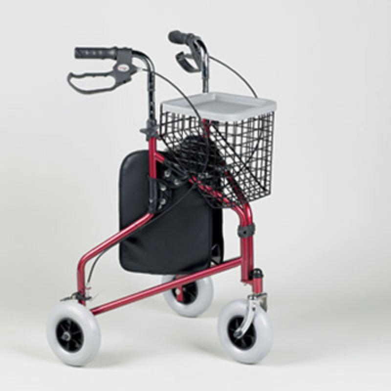 Three-Wheeled Rollator