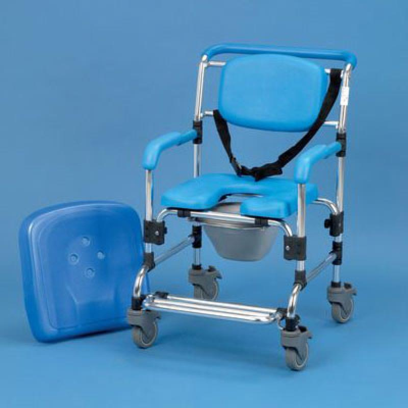 Wheeled Shower/Commode Chair