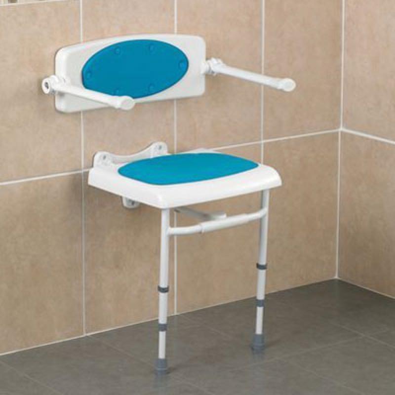 Savanah Wall Mounted Shower Seat