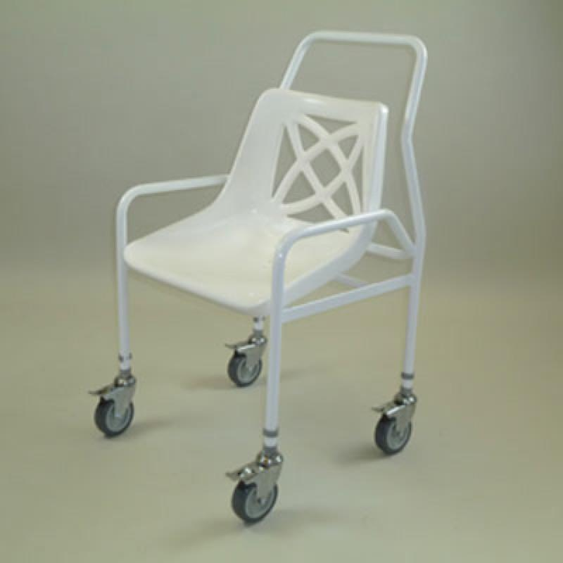 Mobile Utility Shower Chair