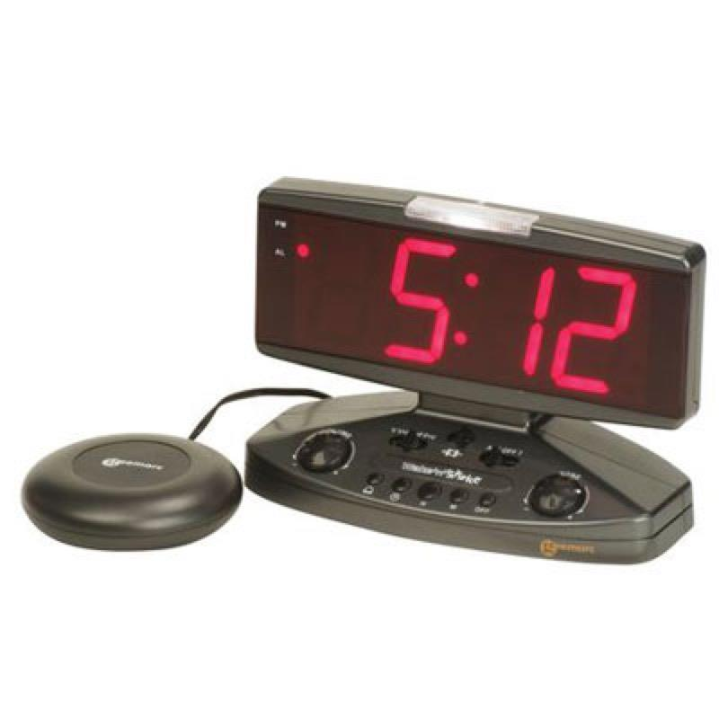 Wake 'n' Shake Vibrating Alarm Clock
