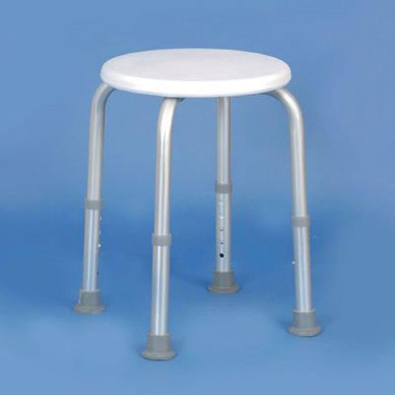 Adjustable Height Shower Stool