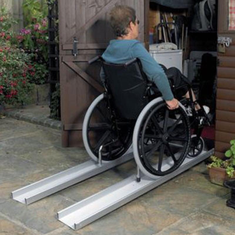 Telescopic Lightweight Channel Ramps
