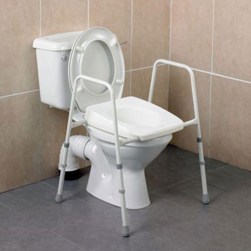 Stirling Adjustable Toilet Frame