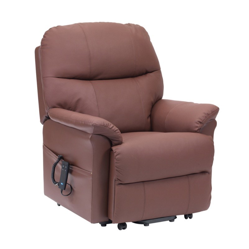 Lars Leather Riser Recliner Chair