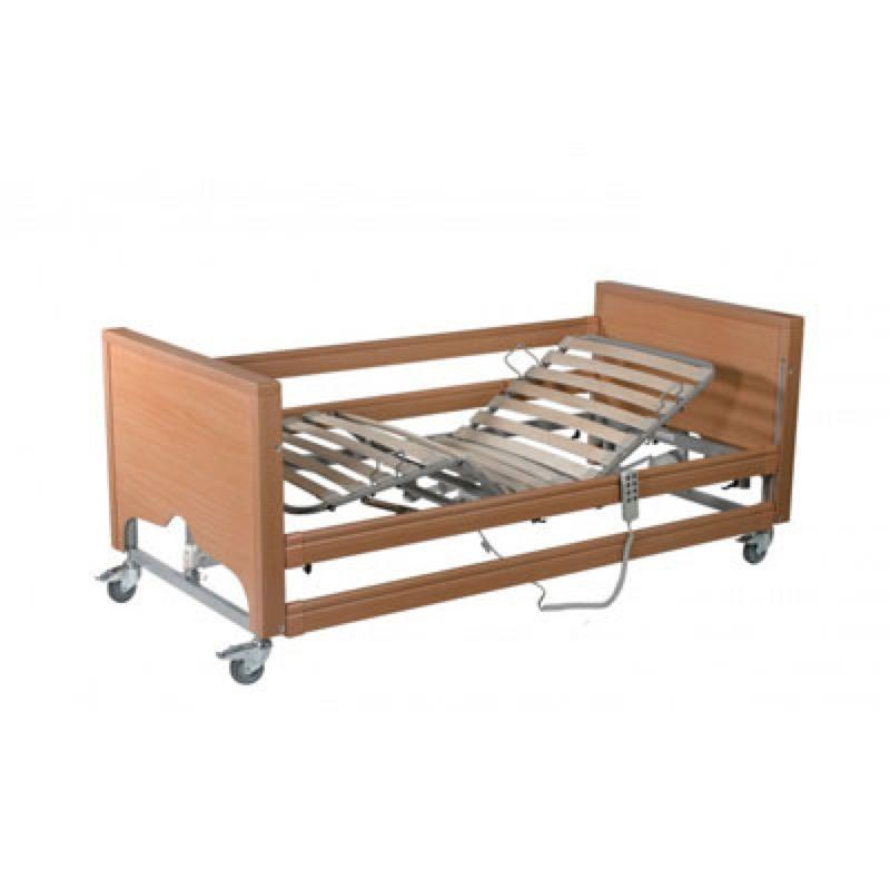 Casa Med Classic FS Low Bed with Side Rails