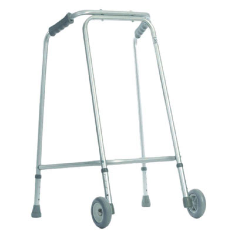 Aluminium Walking Frame with Wheels