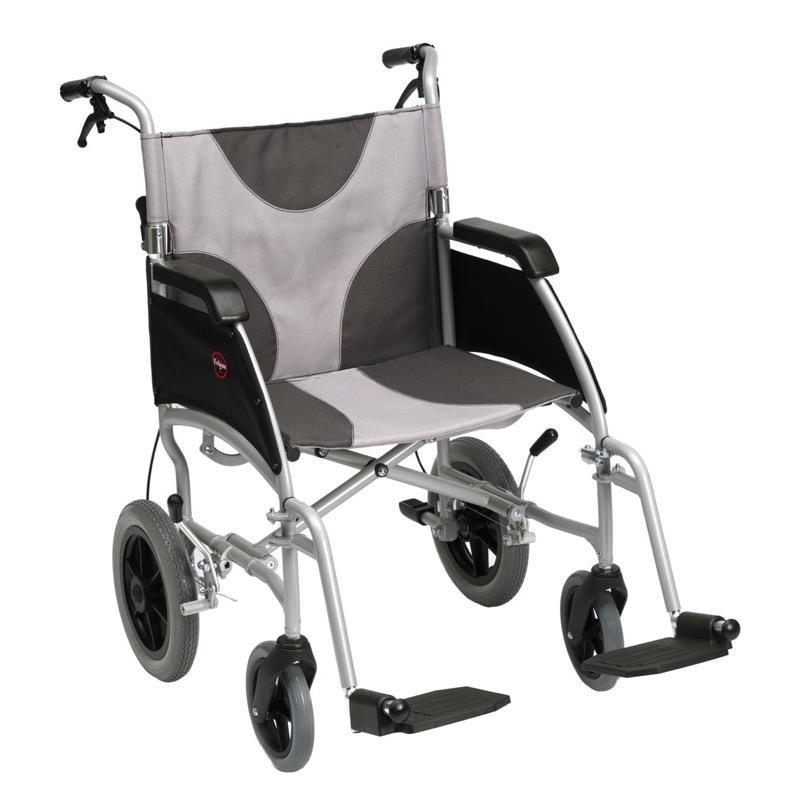 Ultra Lightweight Aluminium Transit Wheelchair