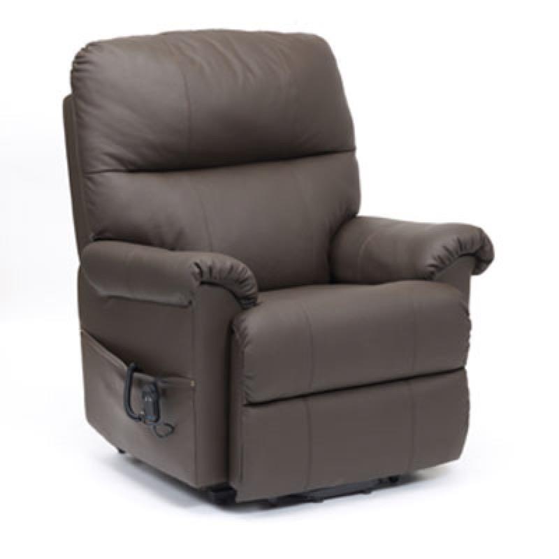 Borg Single Motor Leather Riser Recliner Chair