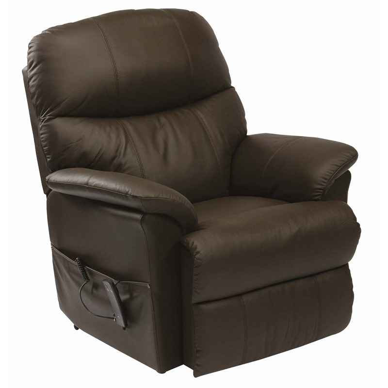 Lars Leather Dual Motor Riser Recliner Chair