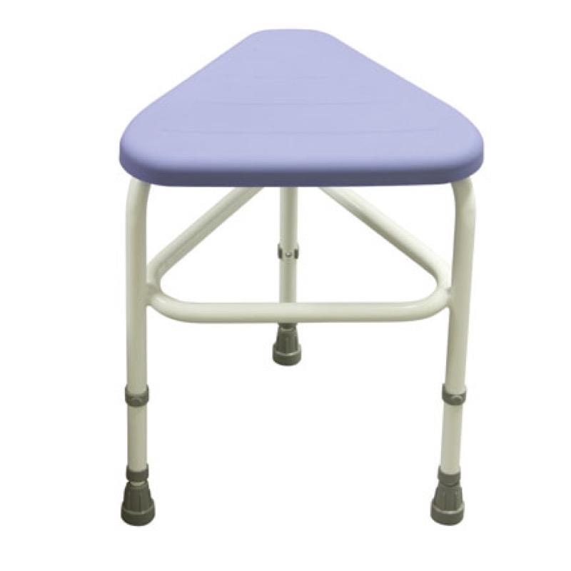 Belmont Corner Stool with PU Seat