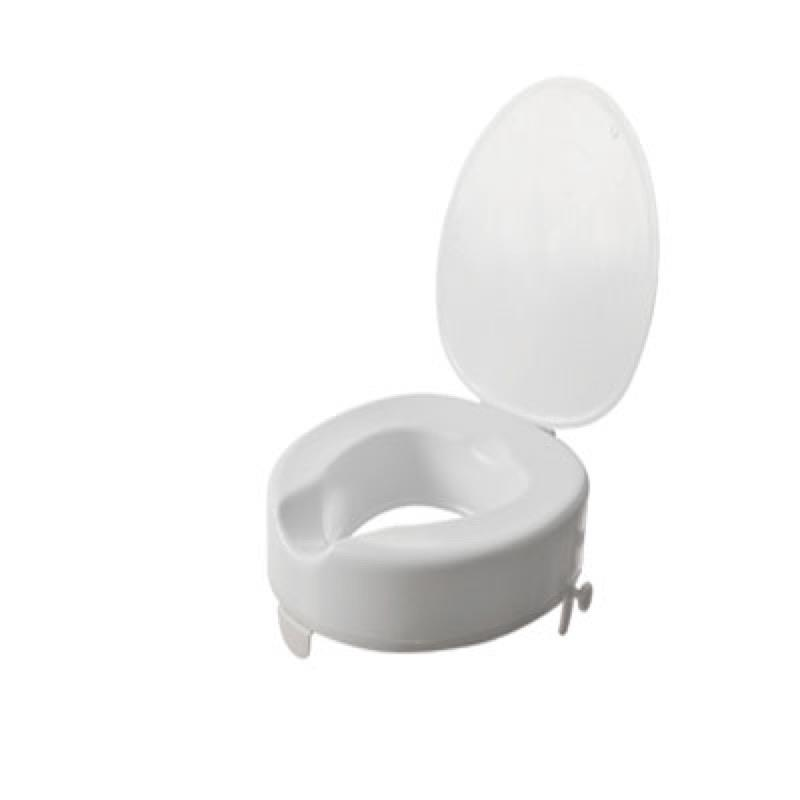 Serenity Raised Toilet Seat (With Lid)
