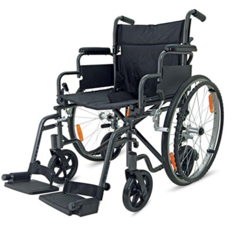 Z-Tec Self Propelled Transit Hybrid Aluminium Wheelchair