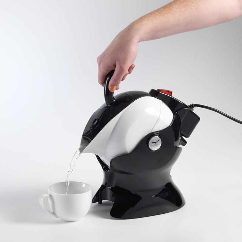 Uccello Power Pour Kettle with built-in Tipper