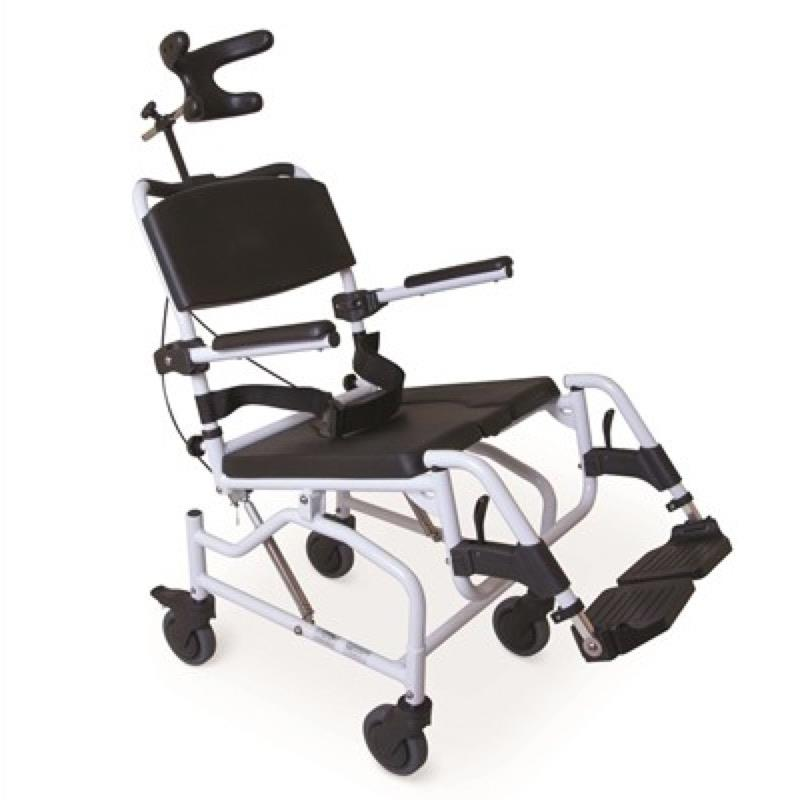 Tilt-in-Space Toileting/Showering Chair