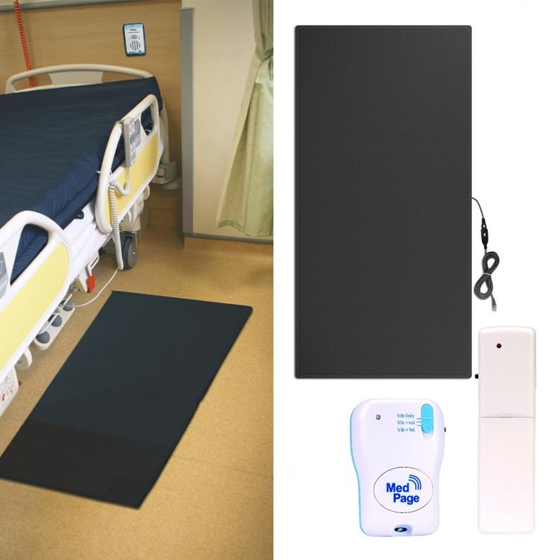 Non-Slip Floor Pressure Mat with Pager