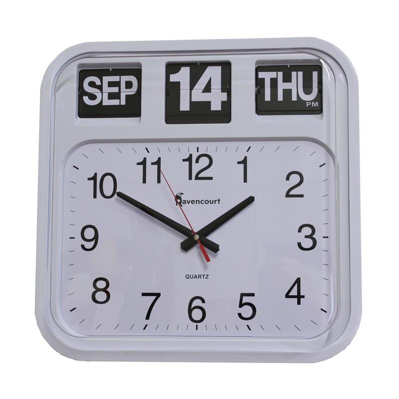 Large Calendar Flip Clock