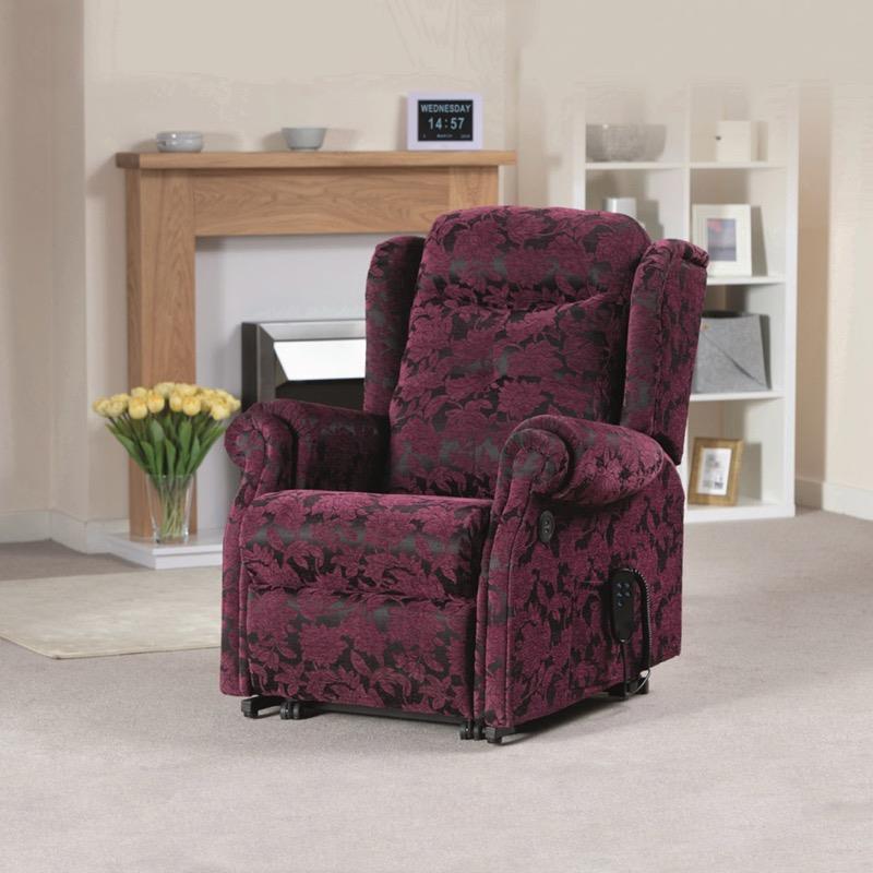 Kingsman Single Motor Riser Recliner Chair
