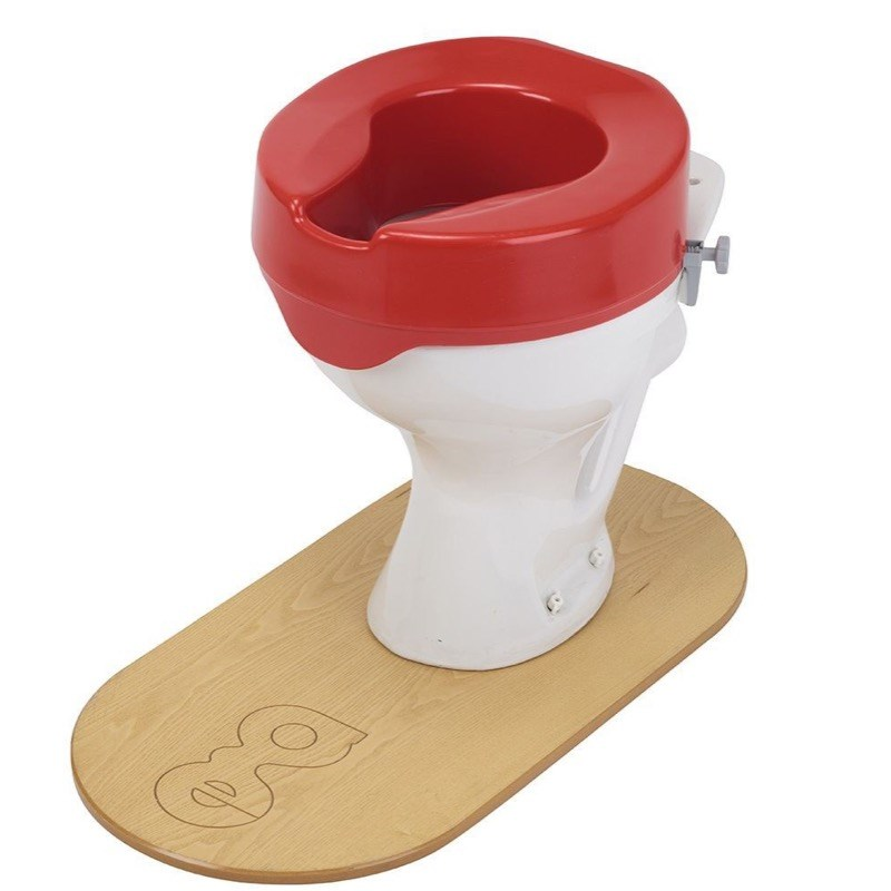 Ashby Red Raised Toilet Seats