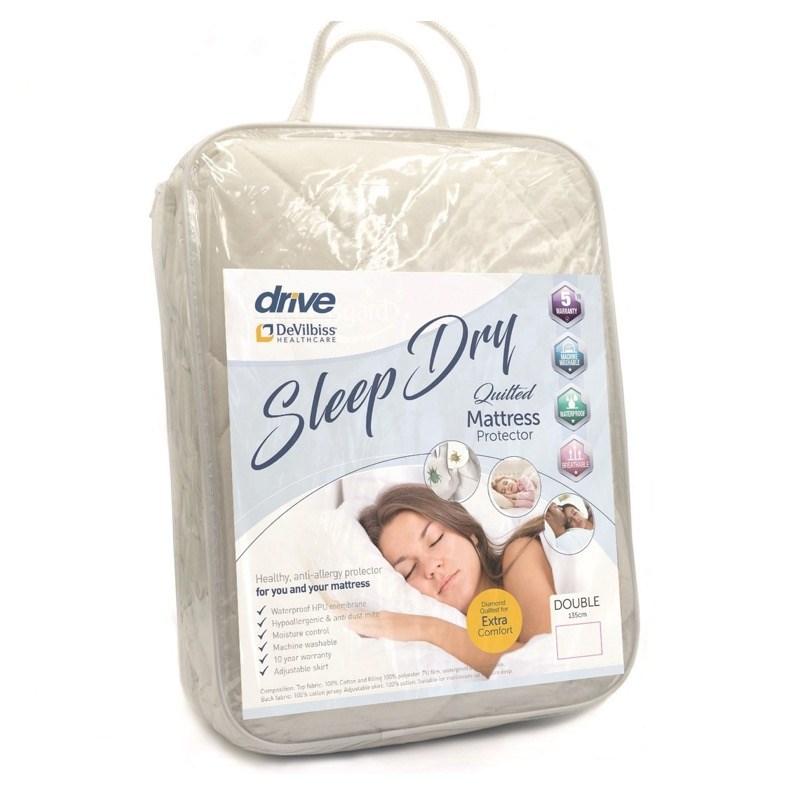 Sleep Dry Quilted Mattress Protector