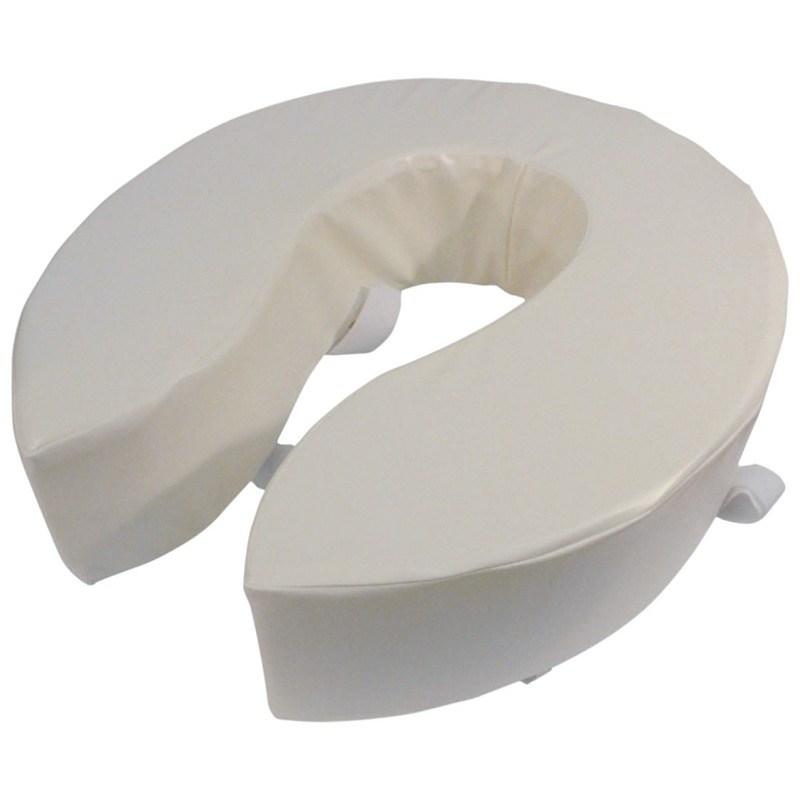 Foam Padded Raised Toilet Seat