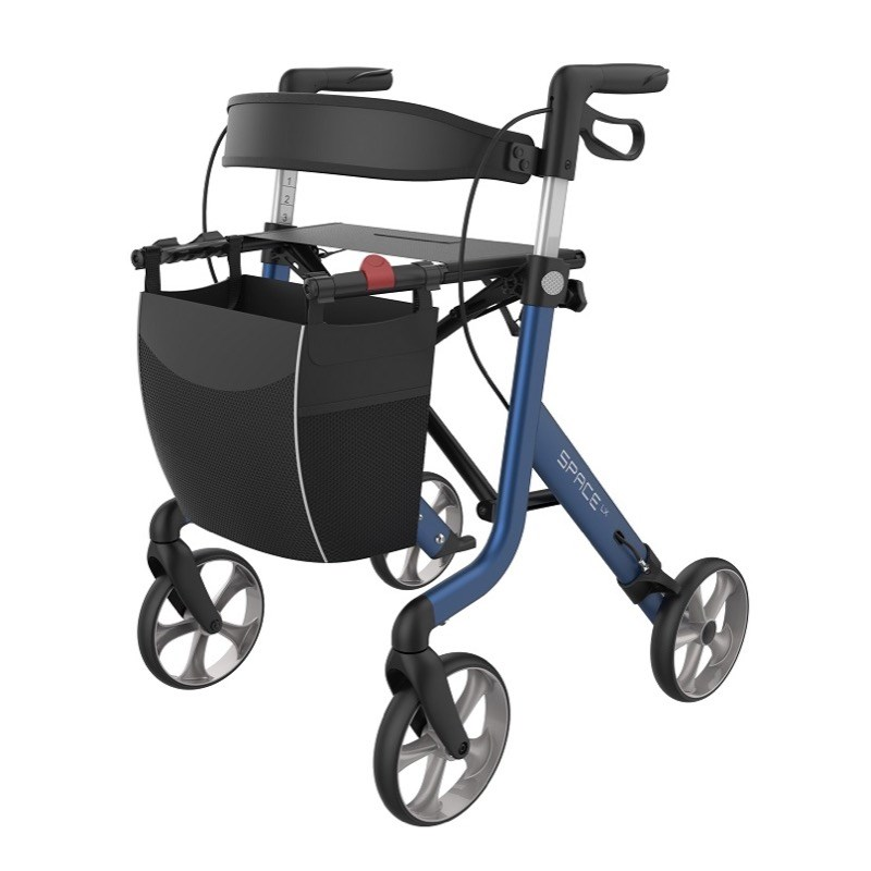 Space LX Rollator - LARGE BLUE