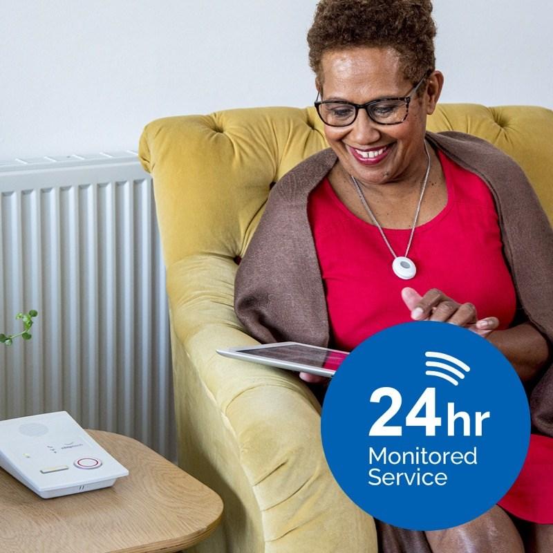 Medequip Connect 24hr Monitored Telecare Service