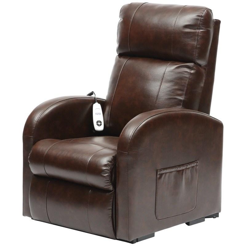 Daresbury Single Motor PU Riser Recliner Chair